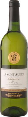 Le Saint Auriol Réserve Blanc Pays d'OC IGP