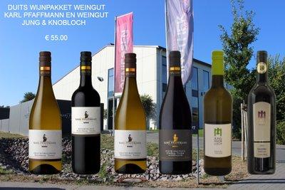 Wijnpakket Duitsland