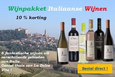Wijnpakket Italië