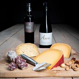 Kaas en Wijn Pakket Gouda