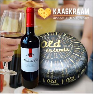 Kaas en Wijn Pakket van de maand Juli